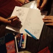 day 2--doodling at maison de tet decor